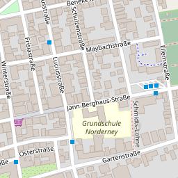 Norderney Karte Straßen.Testseite Drucken Brother